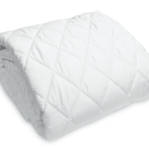 Washable Wool-Filled Fitted Mattress Pad