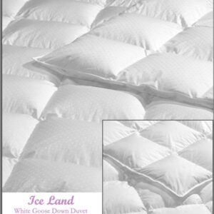 Ice Land Canadian White Goose Down Comforter