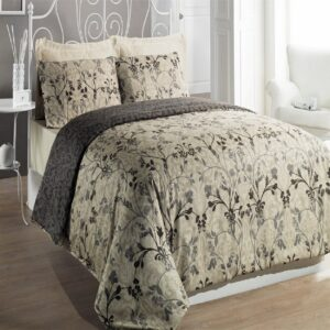 Hurrem Beige 6 Piece Duvet Cover Set