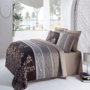 Mahidevran Brown 6 Piece Duvet Cover Set by Cottonbox